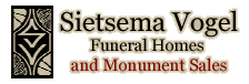 Hampton, Latimer, Dumont and Allison Iowa Funeral Homes | Sietsema Vogel